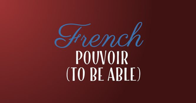 French verb pouvoir