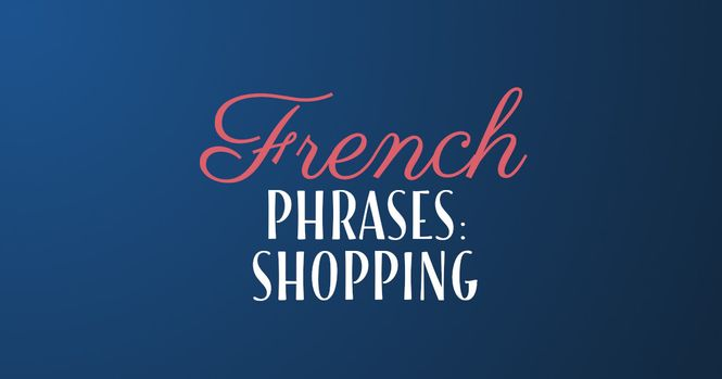 French phrases shopping