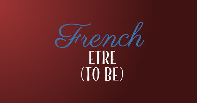 French verb etre
