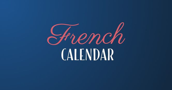 French calendar and dates